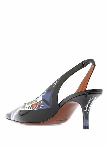 Vetements Ayakkabı Mavi
